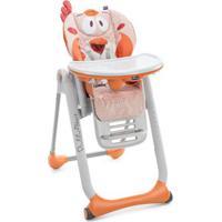 Cadeira De Alimentação Chicco Polly2Start Fancy Chicken - Unissex-Laranja