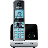"Telefone Sem Fio Panasonic Kx-Tg6711Lbb Dect 6.0 - Viva Voz - Id. De Chamadas - Visor De 1.8"" - Bloqueio De Chamada."