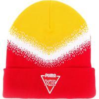 Puma Gorro Com Logo - Amarelo
