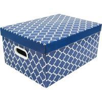 Caixa Organizadora Para Closet G Baby Desmontã¡Vel- Azul Boxmania