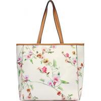 Shopping Bag Floral Mormaii - 230024 - Branca