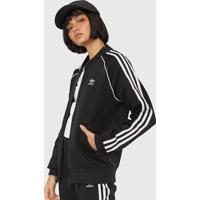 Jaqueta Bomber Adidas Originals Sst Tt Preta