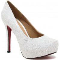 Sapato Zariff Shoes Noivas Pump Glitter