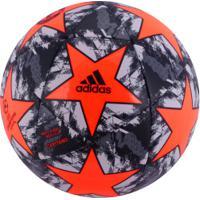 Bola De Futebol De Campo Manchester United Finale 19 Adidas - Vermelho/Cinza Esc