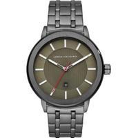 Relógio Armani Exchange Ax1472/1Pn 45Mm Aço Masculino - Masculino-Grafite