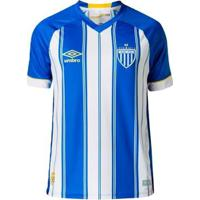 Camisa Umbro Avaí Oficial 1 2018 (Game) Nº10 S/Pa - Masculino