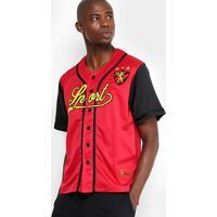 Camisa Sport Recife Baseball Masculina - Masculino