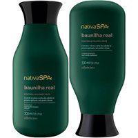 Combo Nativa Spa Baunilha Real: Shampoo + Condicionador