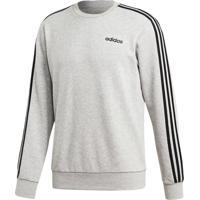 Blusão Adidas E 3S Crew Ft Cinza