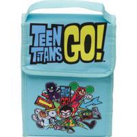Lancheira Teen Titans Go®- Azul Claro & Amarela- 26Xurban