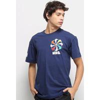 Camiseta Nike Nsw Classics Masculina - Masculino-Marinho