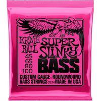 Encordoamento Para Baixo Ernie Ball Super Slinky Bass 045/100 2834 Regular