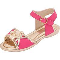 Sandália Bebê Plis Calçados Carinho Feminina - Feminino-Pink