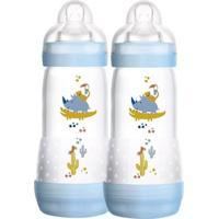 Mamadeira First Bottle Bichos - 320Ml - 2 Unidades - Menino - Mam Mamadeira First Bottle Bichos- 320Ml - 2 Unidades - Menino - Mam