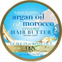 Manteiga Capilar Ogx Argan Oil Of Morocco 187G - Unissex-Incolor