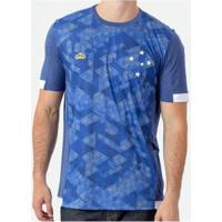 Camiseta Braziline Manga Curta Cruzeiro Nordic Masculina - Unissex