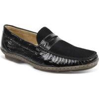 Sapato Masculino Loafer Sandro Moscoloni Michelangelo Preto