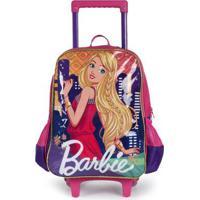 Mochilete Luxcel Barbie Roxo