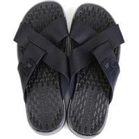 Chinelo Couro West Coast Carmel Sandals Masculino - Masculino-Marinho