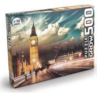 Quebra Cabeça Peças Londres Grow - Unissex-Incolor
