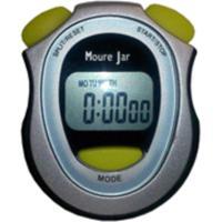Cronometro Digital Moure Jar Preto Cinza Escuro