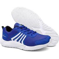 Tênis Running Super Confortavel Masculino - Masculino-Azul