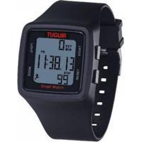 Relógio Tuguir Pedômetro Digital Masculino - Masculino-Preto
