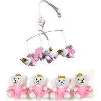 Móbile De Pelúcia - Urso Princesa - Unik Toys - Kanui