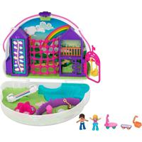 Polly Pocket Pollyville Micro Estojo De Arco-Íris - Mattel - Kanui