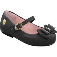 Sapato Infantil Strass Laço Pé Com Pé 29205