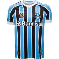 Camiseta Masculina Umbro Grêmio Oficial 1 2018 Fan Numero 7