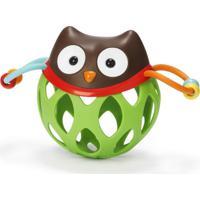 Roll Around Owl Skip Hop ( Coruja) - Brinquedo Para Bebe Com Chocalho