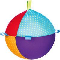 Chocalho Bola- Azul Claro & Roxo- 36X34X11Cm- Flfom