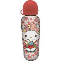 Garrafa Squeeze Rosa 500Ml Hello Kitty Urban