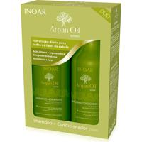 Kit Inoar Argan Shampoo 250 Ml Condicionador 250 Ml