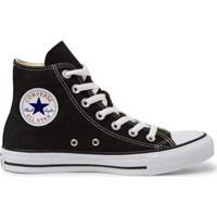 Tênis Converse All Star Chuck Taylor Masculino - Masculino-Preto