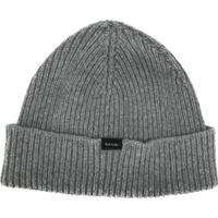 Paul Smith Gorro De Tricô Canelado - Cinza