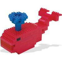 Pote Com Blocos De Montar Toyster Tand Kids - 300 Peças - Unissex-Incolor