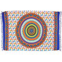 Canga Shopping Bali Mandala Space - Feminino-Azul