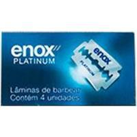 Carga Para Aparelho De Barbear Enox Enox Platinum 4Un - Masculino-Incolor