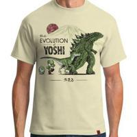 16495b3beb El Cabriton  Camiseta The Evolution Of Yoshi