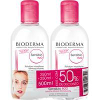 Sensibio H2O Bioderma Solução Micelar Demaquilante Com 250Ml + 50% Desconto Em Embalagem Com 250Ml