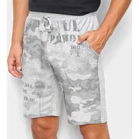 Bermuda Ultimato Moletinho Camuflada Masculina - Masculino