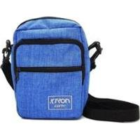 Bolsa Shoulder Bag Ktron - Unissex-Azul Claro