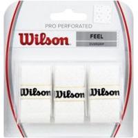 Overgrip Pro Perforated New Branca Wilson - Unissex
