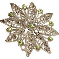 Porta-Guardanapo Artesanal De Metal Com Pedras Jewelry