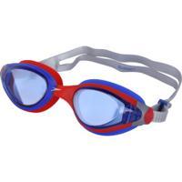 6b1fce0b046f0 ... Óculos De Natação Speedo Sunset - Adulto - Vermelho Azul