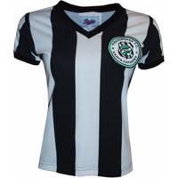 Camisa Liga Retrô Figueirense 1973 - Feminino