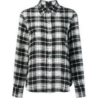 Marc Jacobs Camisa De Seda Xadrez - Estampado