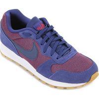 Tênis Nike Md Runner 2 Masculino - Masculino-Azul Royal+Branco